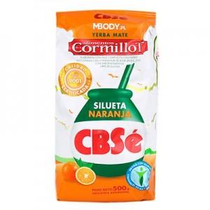 Мате CBSe Silueta Naranja 500 гр.