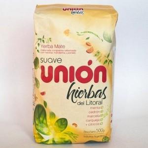 Мате Union Suave Hierbas del Litoral 500 гр.