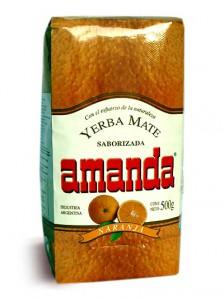 Йерба Мате Amanda orange 500 гр.